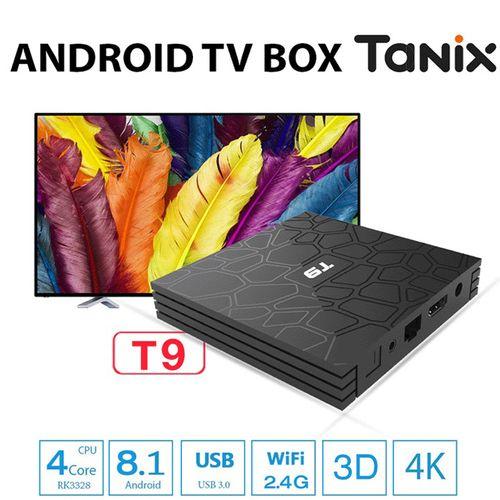 Android Box Tanix T9 chính hãng - 4GB Ram 32GB Rom Android 8.1 RK 3328