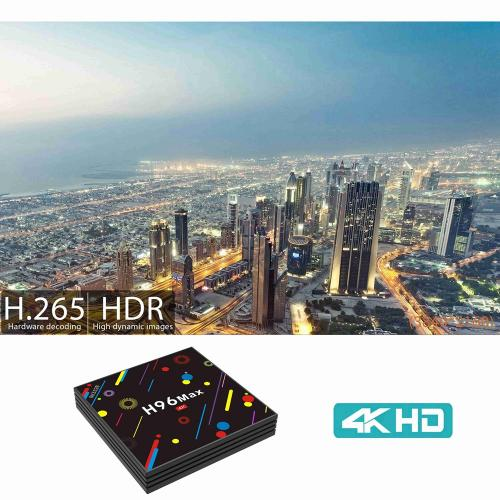 Android TV Box H96 Max H2 ram 4Gb - 32GB Rom - Android 7.1