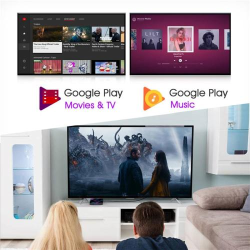 Enybox H96 MAX RK3318 2GB/16GB Android 9.0 TV Box - Kèm KM800V