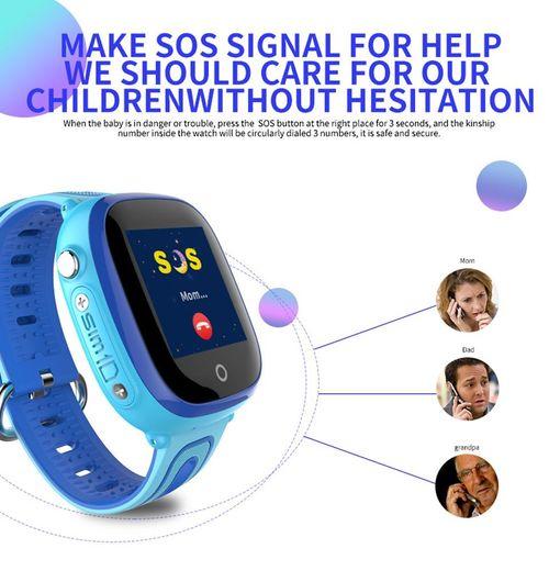 Đồng Hồ Định Vị Trẻ Em GPS-LBS DF31G chống nước - Tích hợp Camera thoại