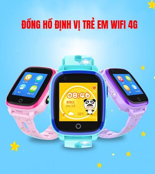 Đồng hồ định vị trẻ em cao cấp GPS LPS DF33 - 4G Unlock 8868