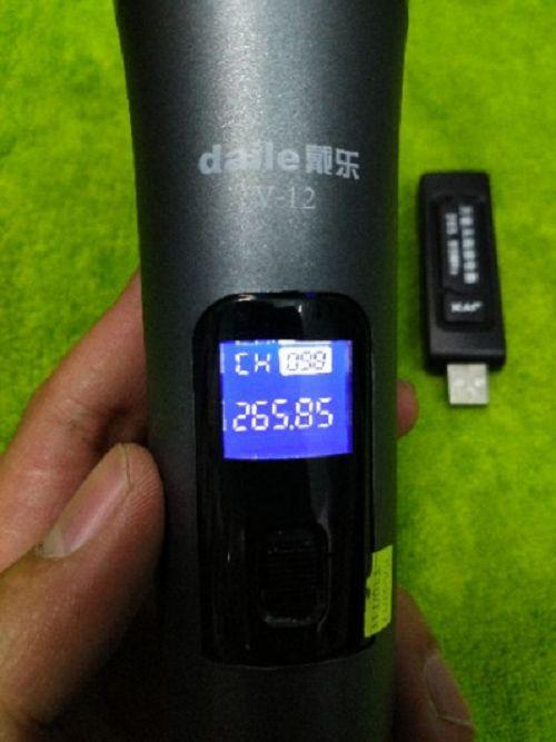 Micro không dây DAILE V12 - Kết hợp cực tốt với loa kéo di động