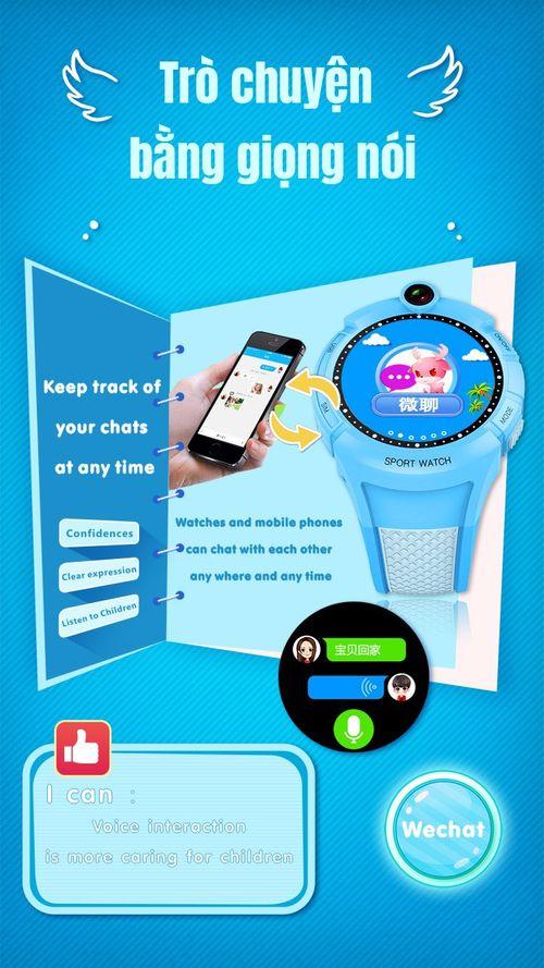 Đồng hồ GPS trẻ em Q360 mặt tròn - Antilost SOS