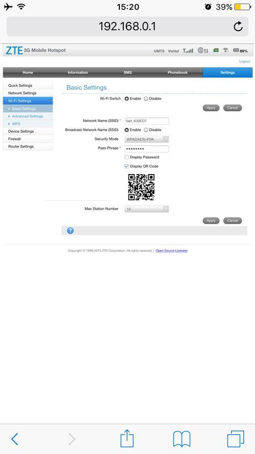 Hướng dẫn sử dụng và đổi mật khẩu bộ phát wifi 4G di động ZTE MF65