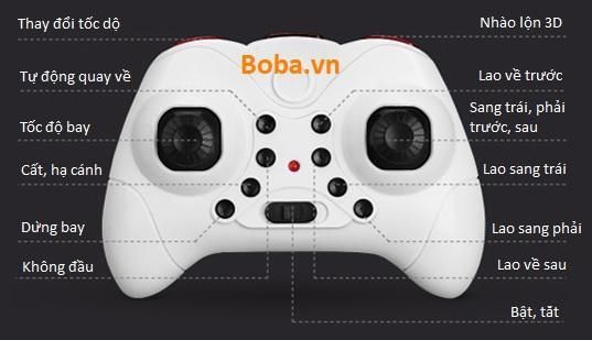 Bảng điều khiển flycam S9
