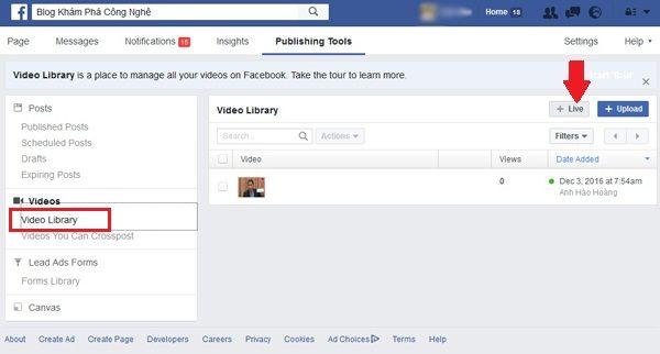 """Hướng dẫn """"live stream"""" Facebook trên máy tính"""