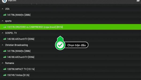 Tổng hợp cách xem k+ bóng đá trực tiếp trên Android Box và Smartphone