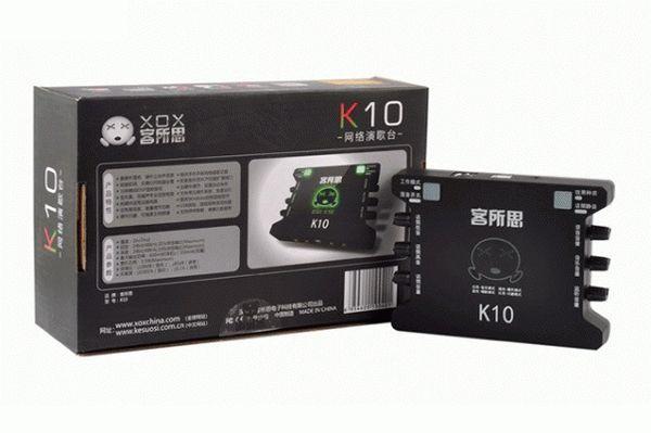 SOUND CARD XOX K10 đã làm gì gây bão trong lòng các bạn trẻ hiện nay