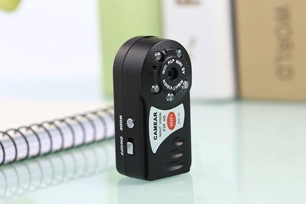 Camera Ngụy Trang Mini Q7 ip wifi Led Quay đêm