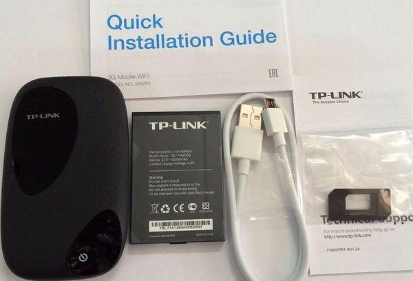 Bộ Phát Wifi 3G TPLINK - M5250