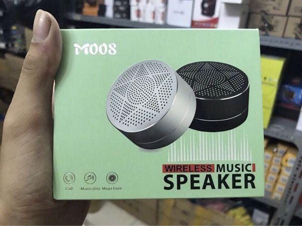 Loa bluetooth Speaker M008 - Thiết kế bằng nhôm âm trong