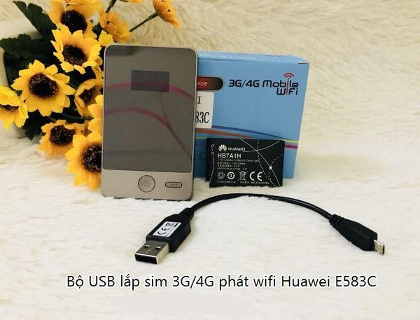 Router wifi 4G Huawei E583c