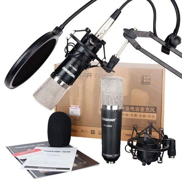 Combo micro thu âm K-600