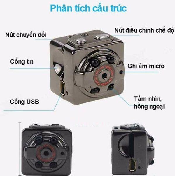 Hướng dẫn sử dụng camera ngụy trang siêu nhỏ SQ8 cực kỳ chi tiết