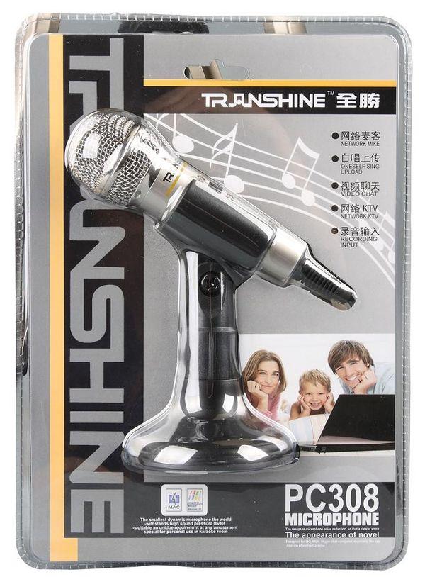 Micro thu âm karaoke Transhine PC 309