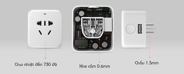 Ổ cắm kiêm dock sạc thông minh Xiaomi