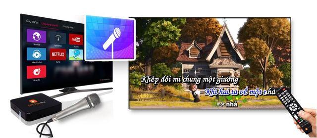 hát karaoke trên tivi box