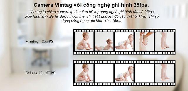 Camera IP wifi Vimtag CM1 - HD 720P