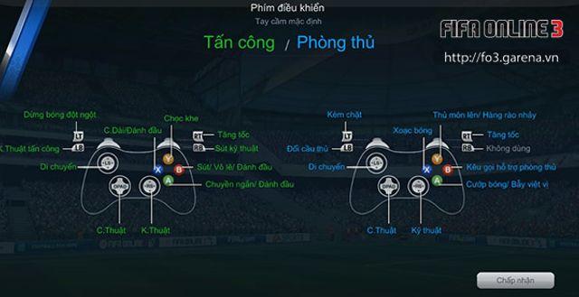 Hướng dẫn sử dụng tay cầm chơi Fifa online 3 trên PC cực kỳ đơn giản