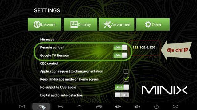 Hướng dẫn sử dụng điện thoại để điều khiển Android Box Thương Hiệu Minix