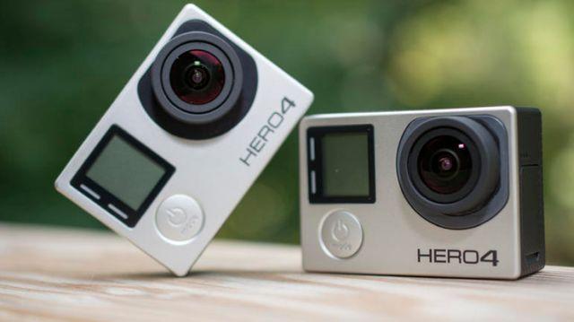 Camera thể thao GoPro Hero 4 silver