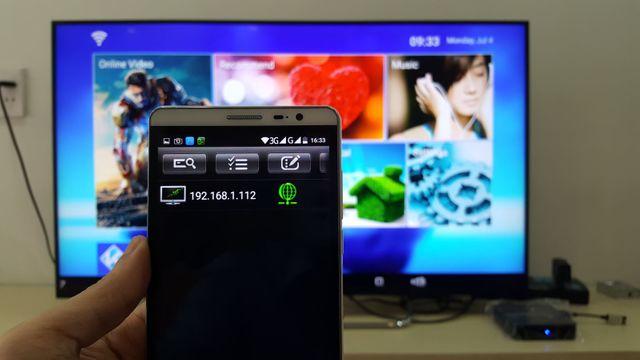 Hướng dẫn sử dụng điện thoại để điều khiển Android Box sử dụng chip Amlogic