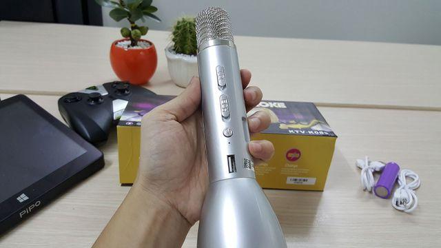 Micro hát karaoke kèm loa k088