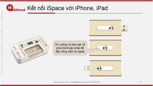 USB mở rộng bộ nhớ Iphone 8GB