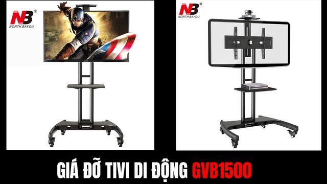 Giá đỡ tivi di động AVA1500 1P (32 - 65 inch) - Có giá đỡ Camera Video Conference