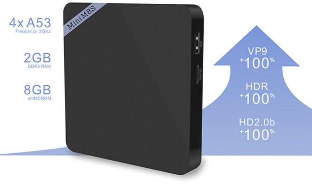 Android TV Box Mini M8S II