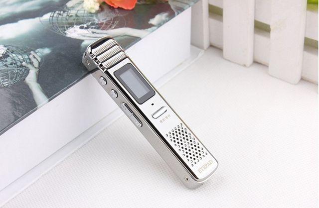 Máy ghi âm mini E80 ( Bộ nhớ trong 8GB ) - Ghi âm phím nóng
