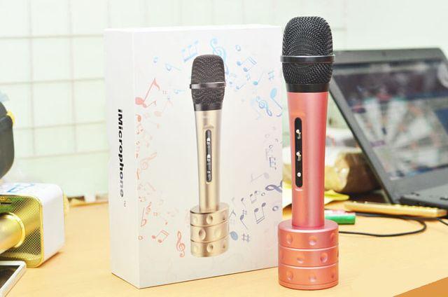 Micro Karaoke kèm loa iMicrophone