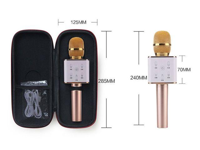 Mic Karaoke Kiêm Loa Bluetooth Q7
