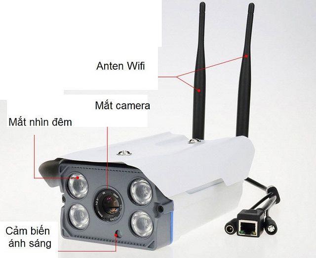 Camera chống trộm báo qua điện thoại Yoosee ngoài trời Full HD - 2.0MP
