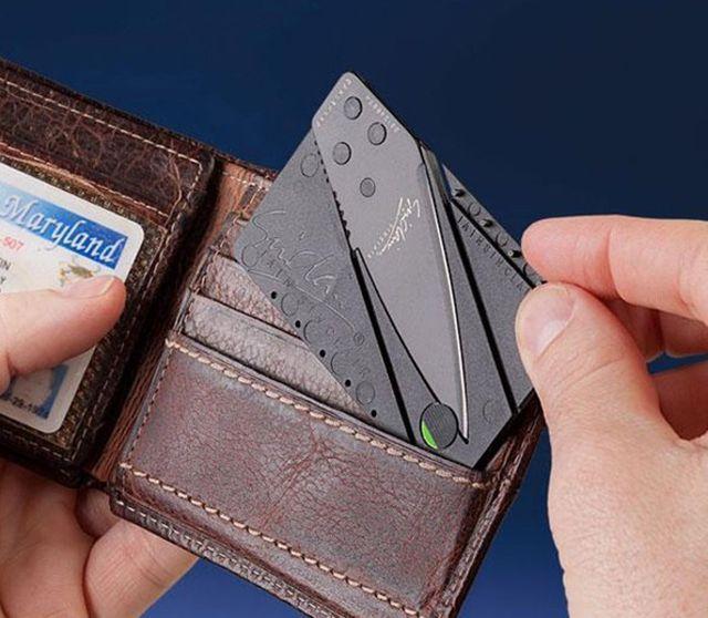 Dao xếp đa năng hình thẻ ATM
