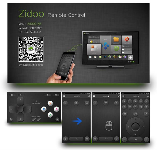 Android TV Box Zidoo X5 chính hãng