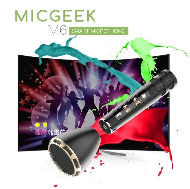 Micro kèm loa MICGEEK M6
