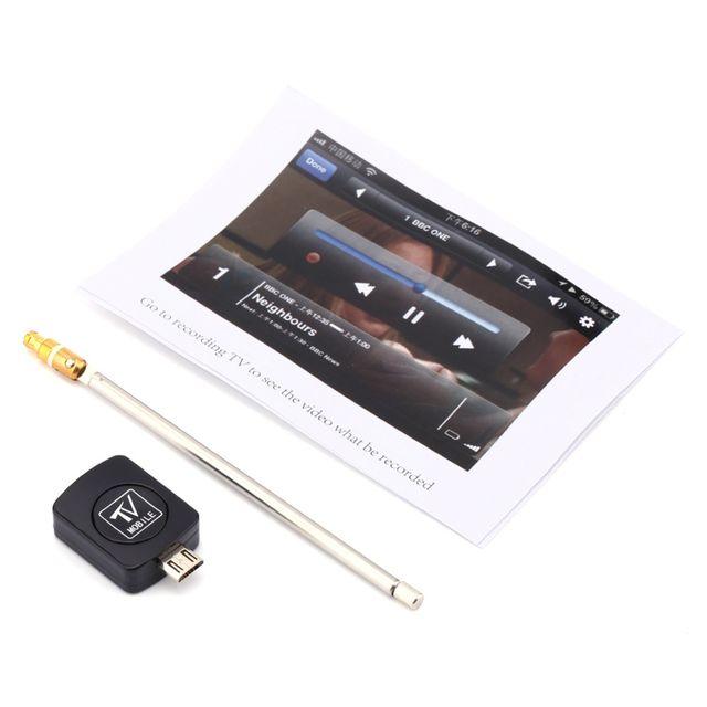 Thiết bị USB DVB-T2 cho điện thoại Android.