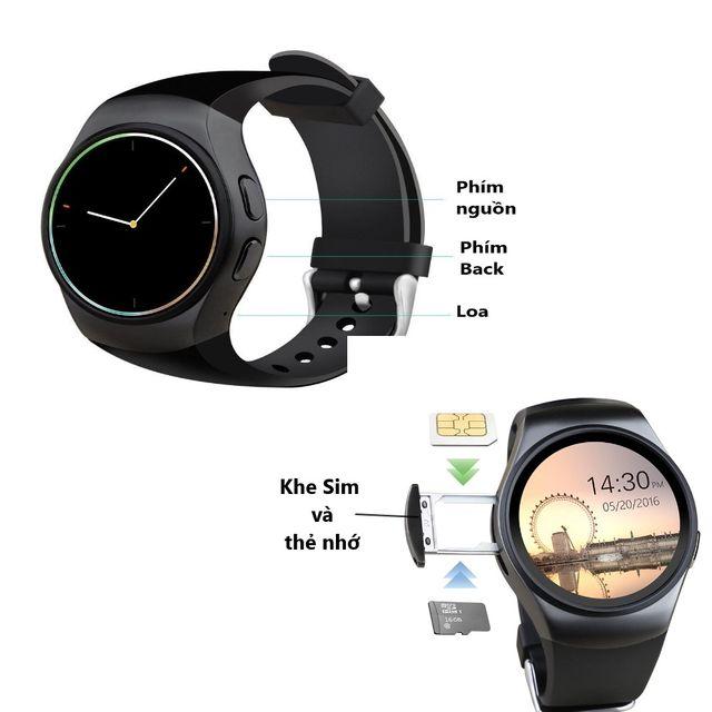 cấu tạo đồng hồ KW18