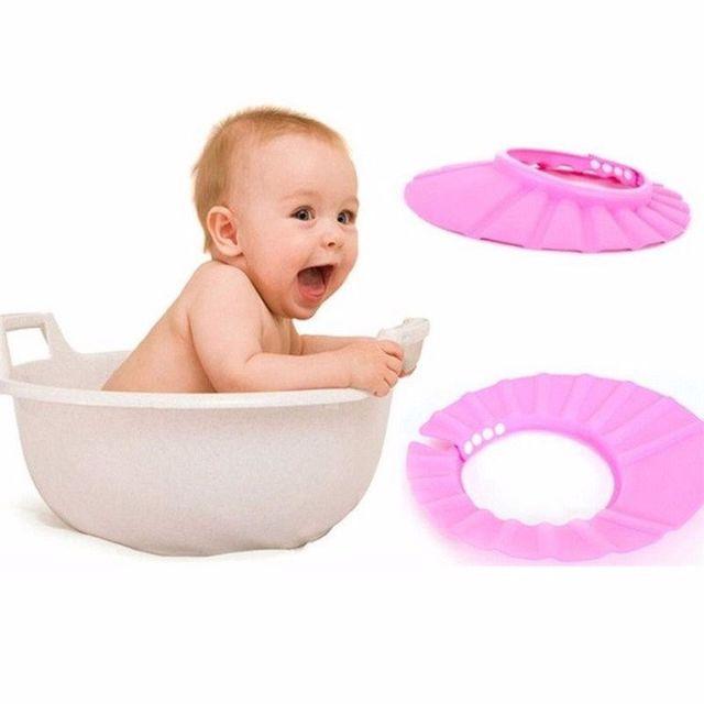 Nón chống nước gội đầu cho bé