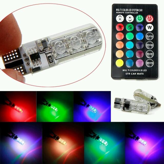 Đèn LED Demi 16 màu có remote