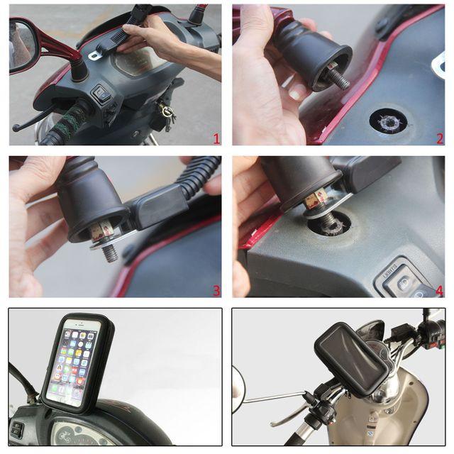 Kẹp điện thoại chống nước KCN1