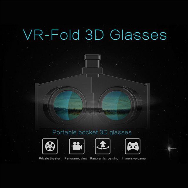 Kính Thực Tế Ảo VR Fold cầm tay giá rẻ