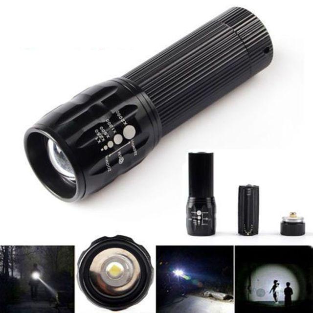 Đèn pin siêu sáng chuyên nghiệp Police X2000 - Thiết kế nhỏ gọn