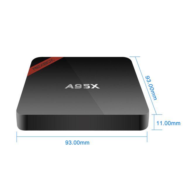 Android TV Box giá rẻ NEXBOX A95X