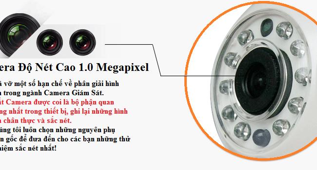 Camera IP thông minh Wifi C6206 - HD