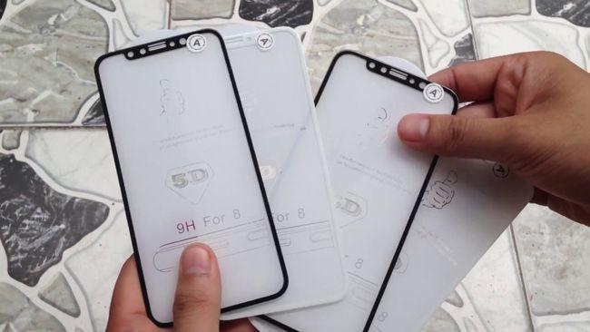 Kính cường lực 5D Full màn hình iPhone X