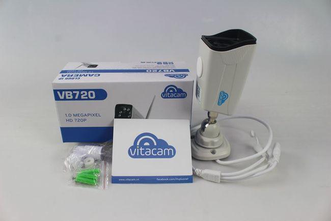 Camera IP ngoài trời Vitacam VB720 - 1.3MP