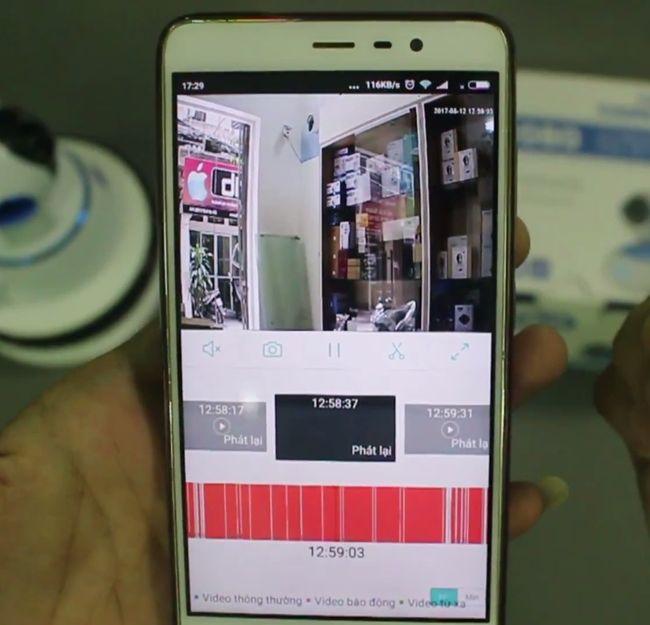 Camera vitacam VT720 đàm thoại 2 chiều