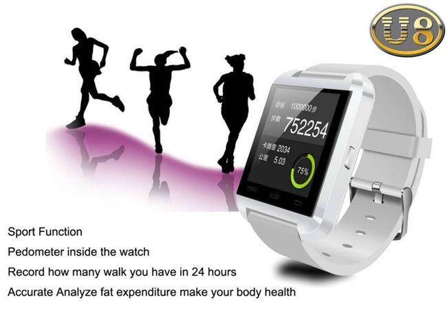 Đồng hồ thông minh U8 - Cảm ứng Sync Smartphone không lắp sim